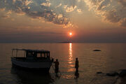 Fishing on Lake Malawi