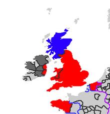 Kingdom of England Map I
