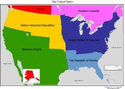USA States independant