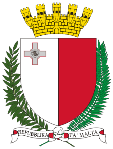 File:Coat of arms of Malta.png