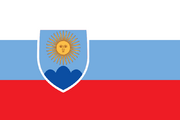 Flag of Argentina (World of the Rising Sun)