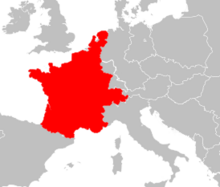 French People's Republic Map