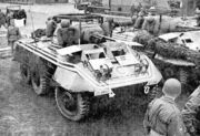 M8 armored car with Constabulary markings