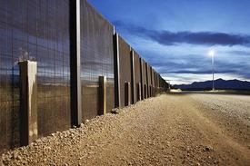 Austin Quarantine Zone border fence