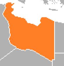 Location of Libya (SM 3rd Power)
