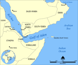 Gulf of Aden map (New Union)