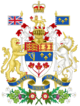 Coat of arms of Canada (1957-1994)
