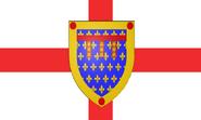 Flag of England-Calais