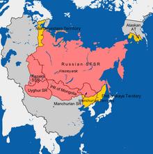 Siberia map (1983DD)