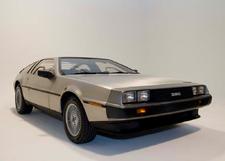 DeLorean, doors closed