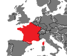 Location of France (Nuclear Apocalypse)