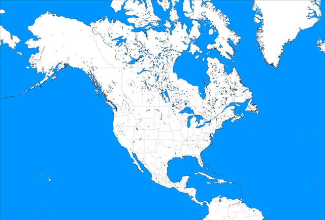 File:Blank Map of North America mercator.png