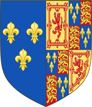 Royal Arms of Mary, Queen of Scots, France & England