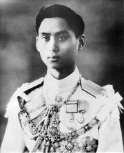 Ananda Mahidol portrait photograph
