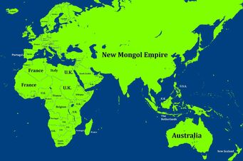 New Mongol Empire after WW2
