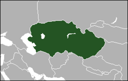 Location of Turan