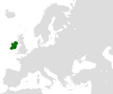 Ireland (island) in Europe