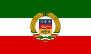 Quebecios Democratic Republic flag