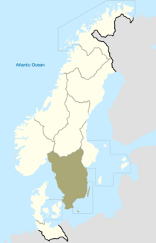 Smaland Map