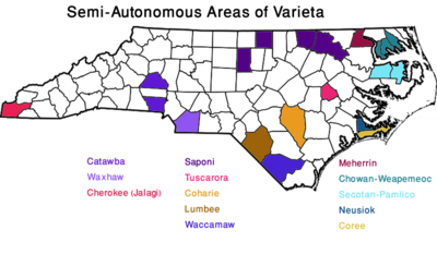 Map New England Varieta SAAs (VegWorld)