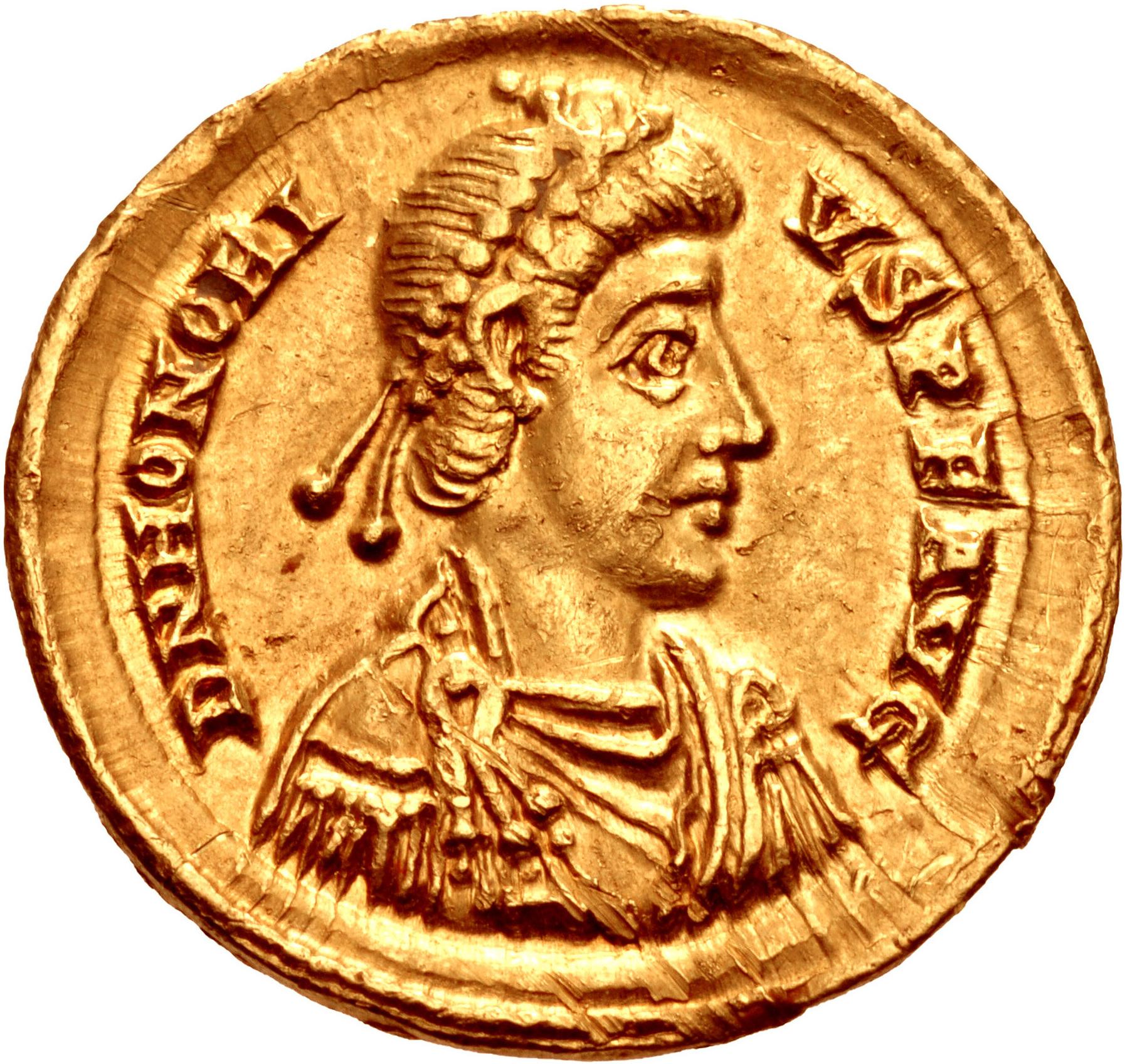 File:Honorius Golden Coin.jpg