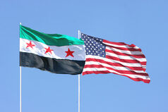 North syrian american flag copy