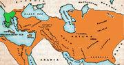 Map of Darius' expansion