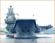 Russian aircraft carrier