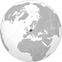 Map of Germany GNW