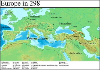 Europe in 298 (Gaul Rising)