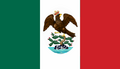 Flag of Mexico 1821-1823