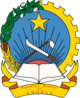 Emblem of the People's Republic of Angola (1975-1992)