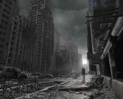 17730 1 miscellaneous digital art apocalyptic destruction destroyed city