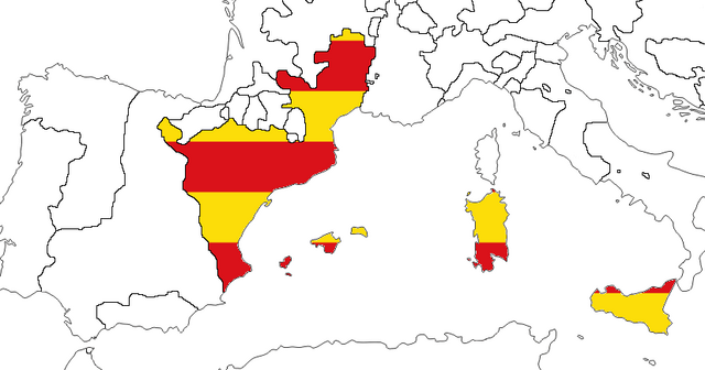 File:Aragon w. Flag (The Kalmar Union).png