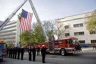 Fireman funeral