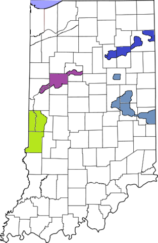 File:391px-Map of Indiana4 highlighting Lake County.png