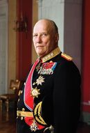 King Harald V of Norway small