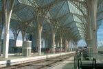 Oriente Station Lisboa roof
