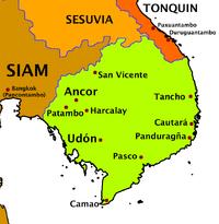 Cochin-China Map (VOE)