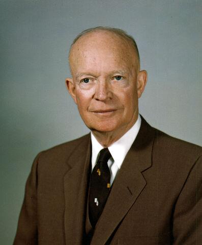 File:Dwight D Eisenhower, White House photo portrait.jpg