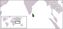 LocationSriLanka