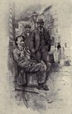 Tr - nyc police commissioner 1894 - jacob riis bio - the making of an american - illustration named one was sitting asleep on a buttertub crop