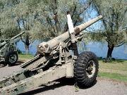 Ordnance bl55 140mm gun hameenlinna 1
