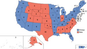 Election Map, 1996 (1861 HF)