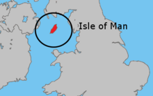Uk map isle of man