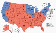 US Electoral College 2000