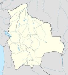 Bolivia location map (SM 3rd Power)