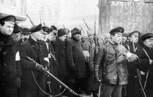 Patrol of the October revolution