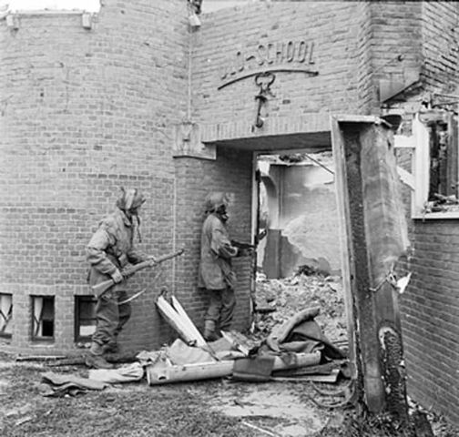 File:629px-Dutch school being searched for German snipers.jpg