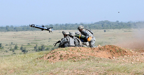 File:First Javelin missile firing in India.jpg